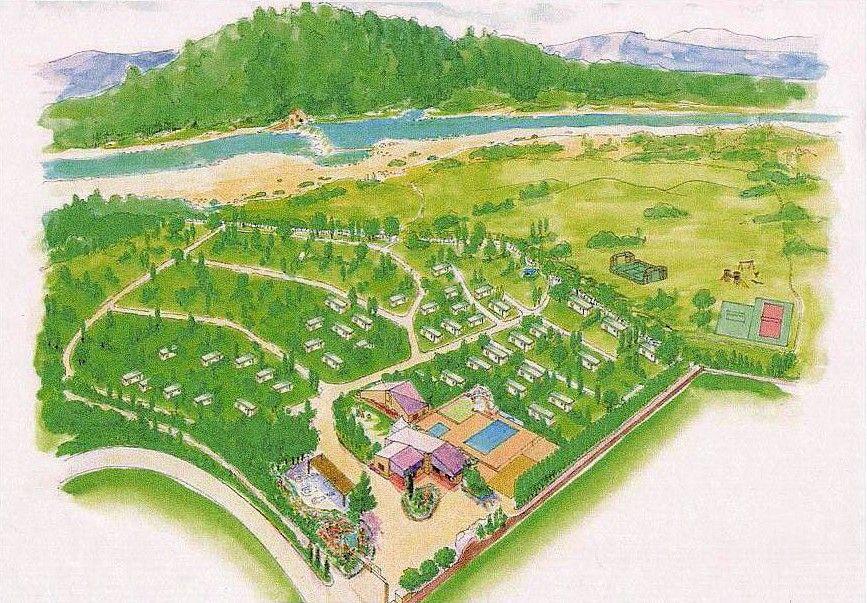 Plan du camping Domaine de Gil